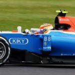 Rio Haryanto (IDN) Manor Racing MRT05. 08.07.2016. Formula 1 World Championship, Rd 10, British Grand Prix, Silverstone, England, Practice Day.