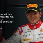 Rio Haryanto talks about his historic debut
